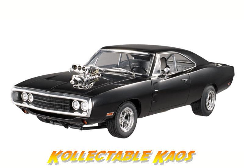 essere molto richiesto 1 18 CalienteRuedas - F&F F&F F&F 1970 Dodge Charger - The Fast e the Furious (2001)  rivenditori online
