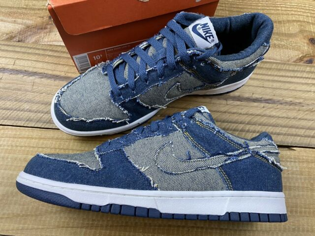 Size 10 - Nike Dunk Low CL Denim for