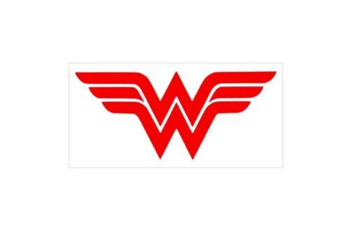 "Custom 2.5/""x5/"" Wonder Woman REG Vinyl Decal Sticker Laptop Tablet iPhone Cell"