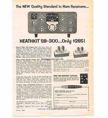 1964 Heathkit Sb-300 Receiver Cb Ham Radio Vtg Print Ad A Great Variety Of Models Advertising Collectibles