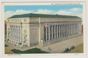 card-Post-Office-and-Federal-Building-Denver-Colorado-A23