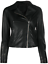 thumbnail 1 - Black Leather Jacket Women Pure Lambskin Size XS S M L XL XXL Custom Made