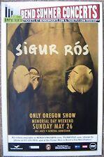 SIGUR ROS 2013 Gig POSTER Bend Oregon Concert