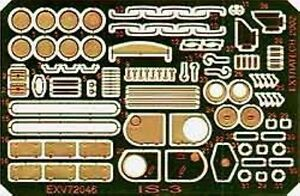 Extratech-EXV72046-1-72-Photo-Etch-Details-of-Russian-IS-3-Tank-Roden-Kit