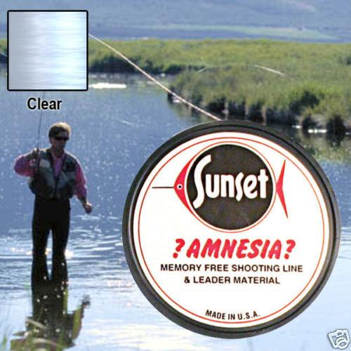 AMNESIA MEMORY FREE FISHING LINE 12 LB CLEAR  SS09412
