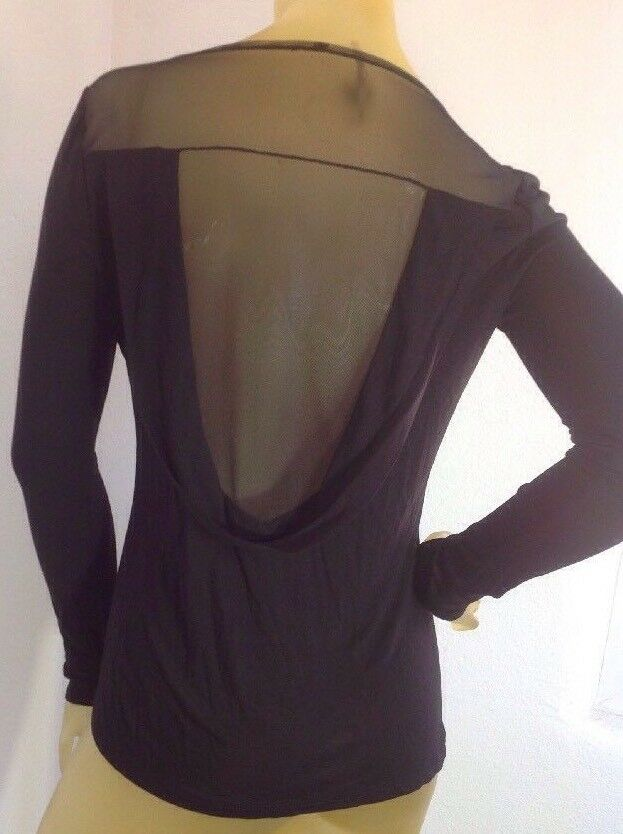 New without tag  BCBG Max Azria Long Sleeve B2049 Blouse Sz Xs