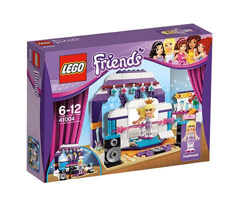 Stephanies großer Auftritt Verpackung 1B Lego 41004 Friends