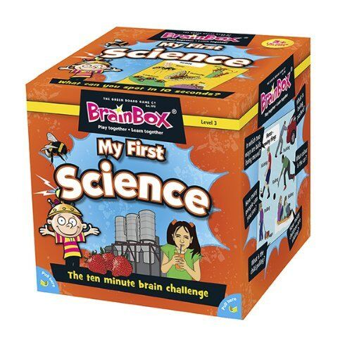 My First Science Card Game BrainBox