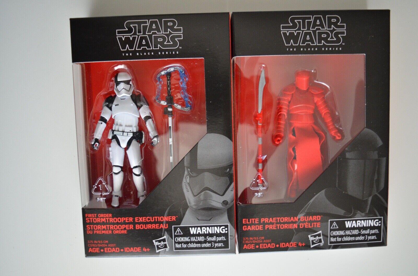 Rose /& FO Stormtrooper Bourreau Star wars Black series 3.75 Luke Skywalker