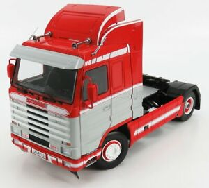 ROAD-KINGS 1/18 SCANIA | 143M 500 STREAMLINE TRACTOR TRUCK 2-ASSI 1995 | RED ...