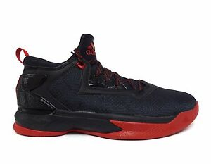 42cb53610d04 Adidas Men s D LILLARD 2.0 Basketball Shoes Core Black Scarlet ...