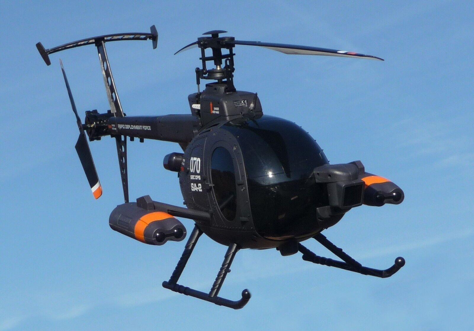 RC XL elicottero 62cm  300 metri di portata  con BATTERIA & 2,4ghz 70-1