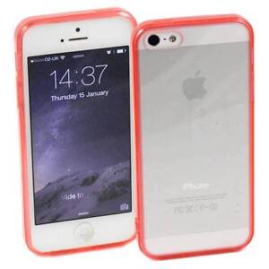 RED-iPHONE-5-5S-APPLE-CASE-HARD-BACK-CLEAR-TPU-SILICONE-BUMPER-COVER-M30