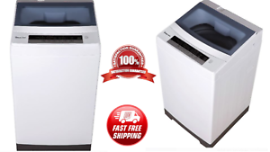 Portable Compact White Wash Machine Washing&Spin Cycle 1.6 cu ft Top Load Washer
