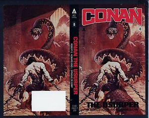 Details about Conan FRANK FRAZETTA COVER PROOF The Usurper REH Fantasy  Novel Production Art PB