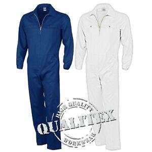 QUALITEX-Overall-Arbeitsanzug-Blaumann-Mechaniker-Maler-Anzug-Arbeitsoverall