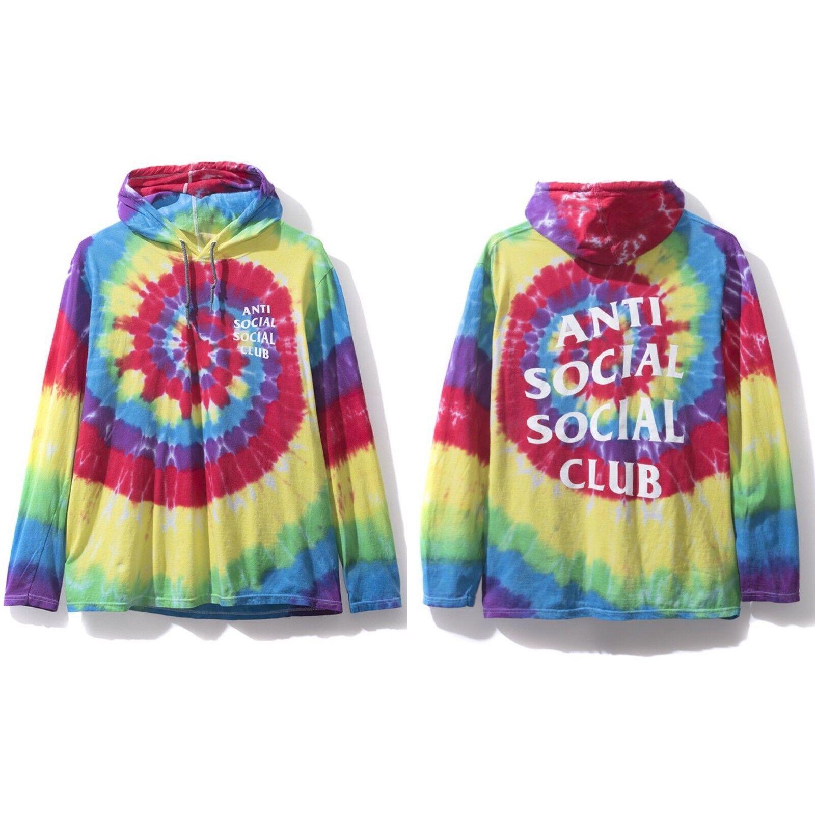 Anti Social Social Club Woodstock Longsleeve Hooded Tee S M L XL XXL