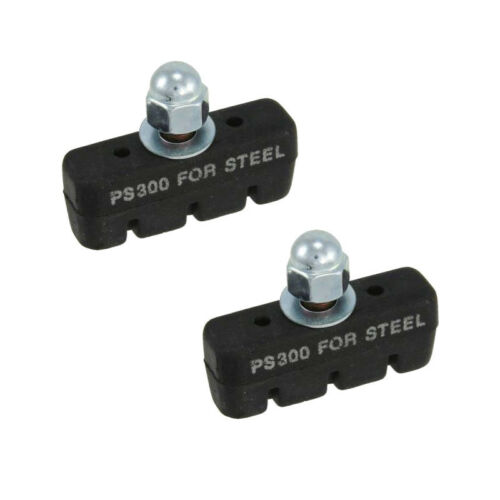 PAIR BIKE BRAKE PAD 45MM FOR ALLOY OR STEEL RIMS BLOCK PADS SHOE INSERT CYCLE