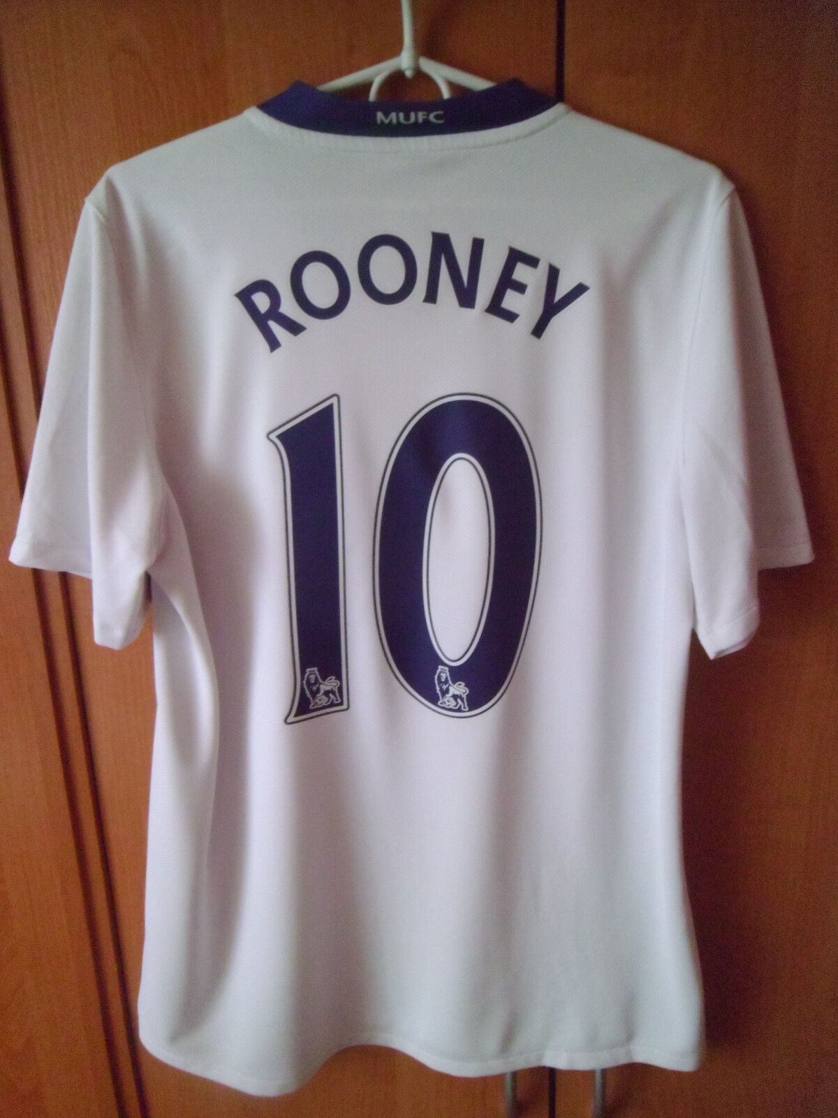 ROONEY   2008-09 Manchester United Away Shirt Jersey Trikot S
