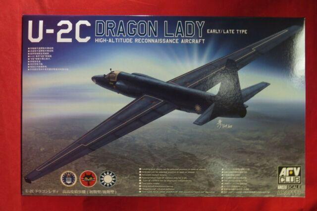 AFV Club 1//48 U-2A Dragon Lady High Altitude Reconnaissance Aircraft # AR48112
