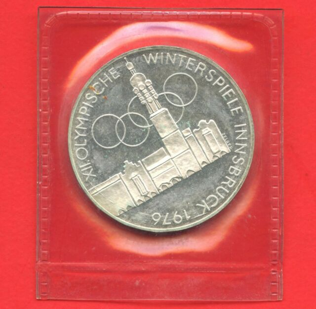 1975 Austria 100 Schilling Coin ( 24 Grams .640 Silver ) Sealed Uncirculated
