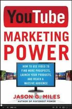 YouTube Marketing Power by Jason Miles (2013, Paperback)