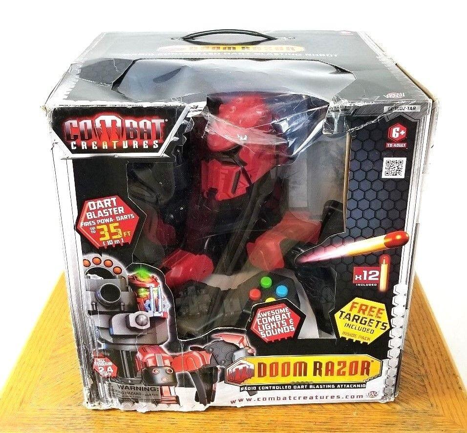 NIB DOOM RAZOR R/C Disc Blazter Robot Combat Creature - New In Box - SEALED