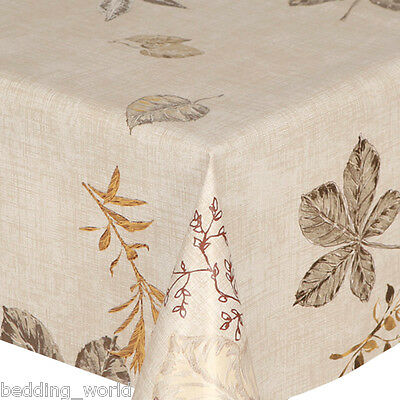 PVC Table Cover Lace Effect Silver 140cm