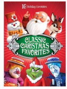 Classic-Christmas-Favorites-New-DVD-Boxed-Set-Full-Frame-Repackaged-Slips