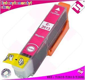 TINTA-MAGENTA-T2633-T2613-26XL-COMPATIBLE-IMPRESORAS-NONOEM-EPSON-CARTUCHO-ROSA
