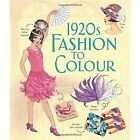 1920s Fashion to Colour by Abigail Wheatley (Paperback, 2016)