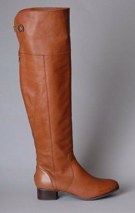 SEYCHELLES SHOES TRUE STORY BOOTS OTK CUFF CONgreenIBLE OVER KNEE TALL 7.5  320