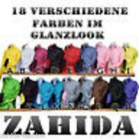 Herren Hemd Farben Langarm Lack-Leder-Look Tailliert Slim Fit S M L XL XXL NEU