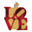 034-Love-034-36170-X-Old-World-Christmas-Glass-Ornament thumbnail 1