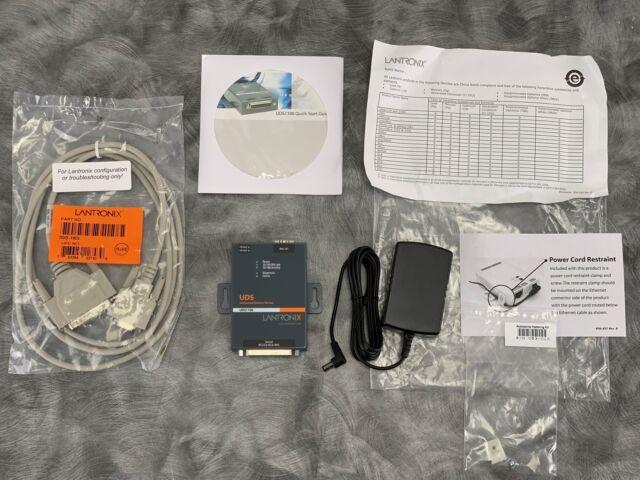 # 080-358-011-R New Lantronix UDS1100 Universal Device Server UD1100001-R1 Pt