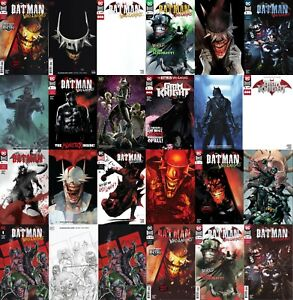 BATMAN-WHO-LAUGHS-and-GRIM-KNIGHT-Every-Issue-ALL-Printings-ALL-Variants