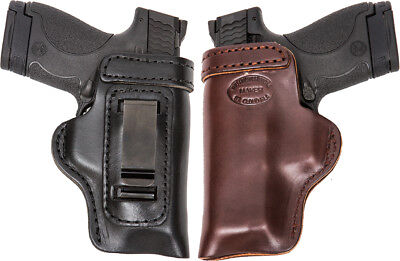 CZ P-09 IWB Leather In The Waistband Concealed Carry Holster TAN RH