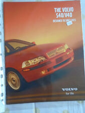 Volvo S40/V40 range brochure May 2000