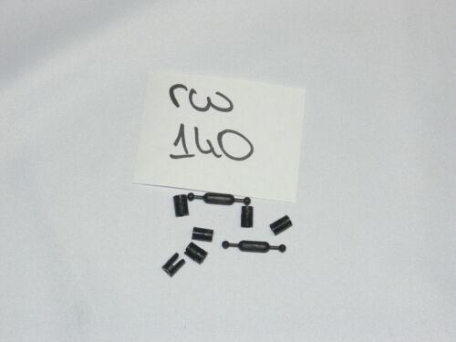L=23mm r140 Bastler Kardanwelle 2 x mit Aufnahmekopf 6x