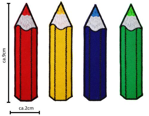 Lápiz de color de parches parche parches parche insignia Aufbügler