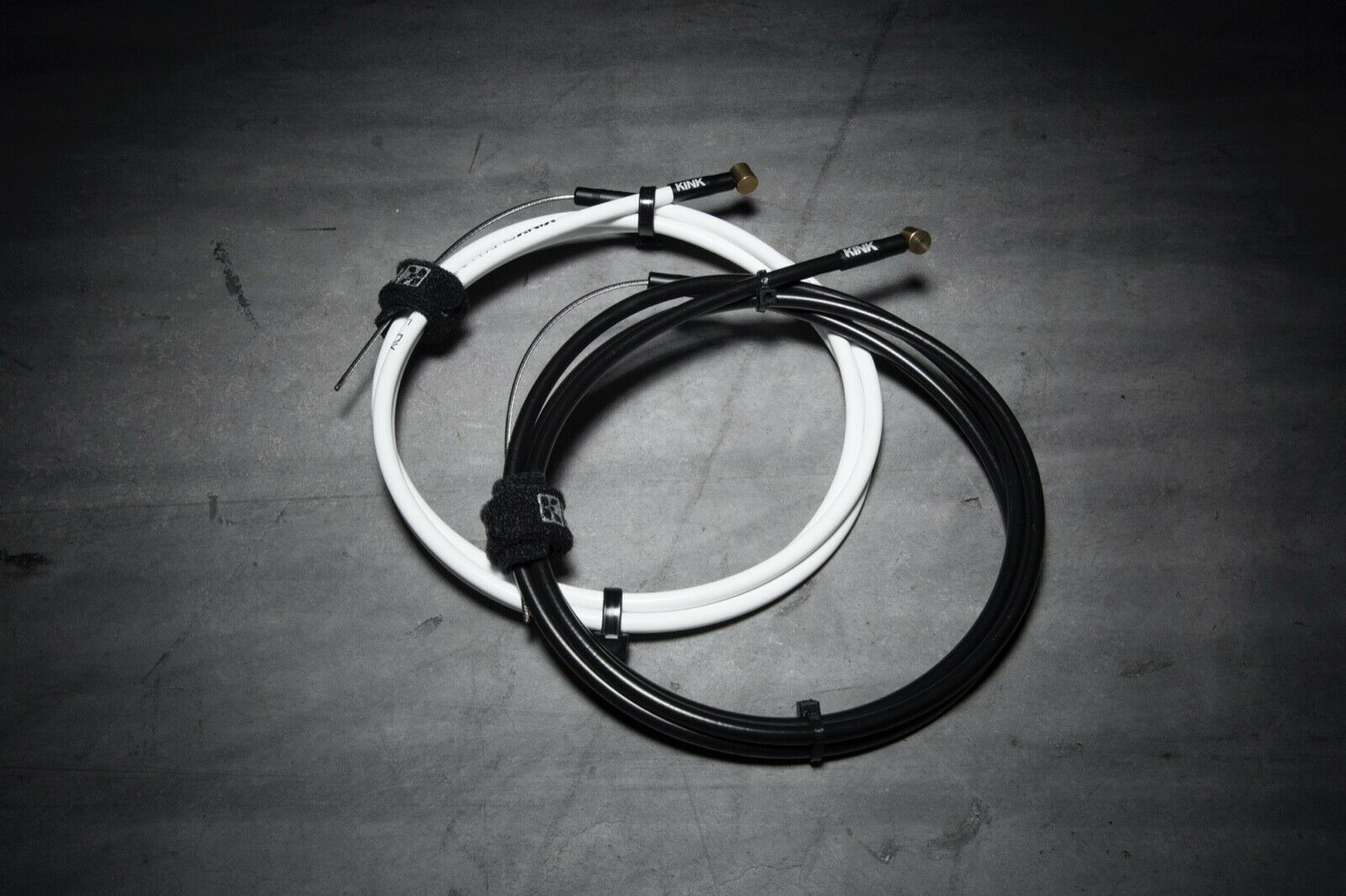 Kink Linear DX Replacement no Bind 50 in Brake Cable for BMX Bicycles White