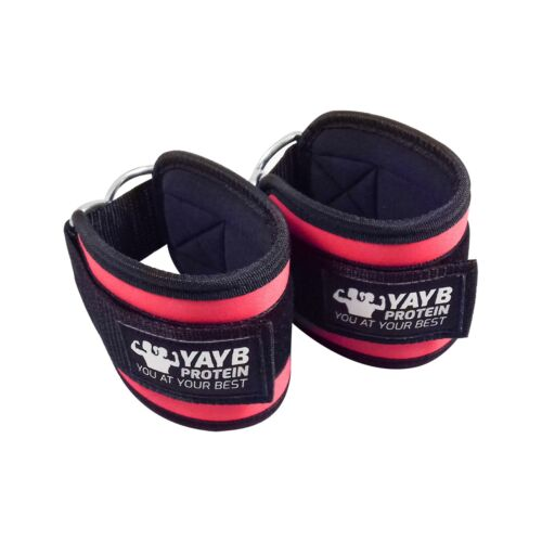 glute training Hip YAYB Ankle Straps For Cable Machine Pair