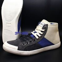 Guess Jenkins Grey Blue Beige High Hi Top Mens Shoes Fashion Sneakers /s487.166