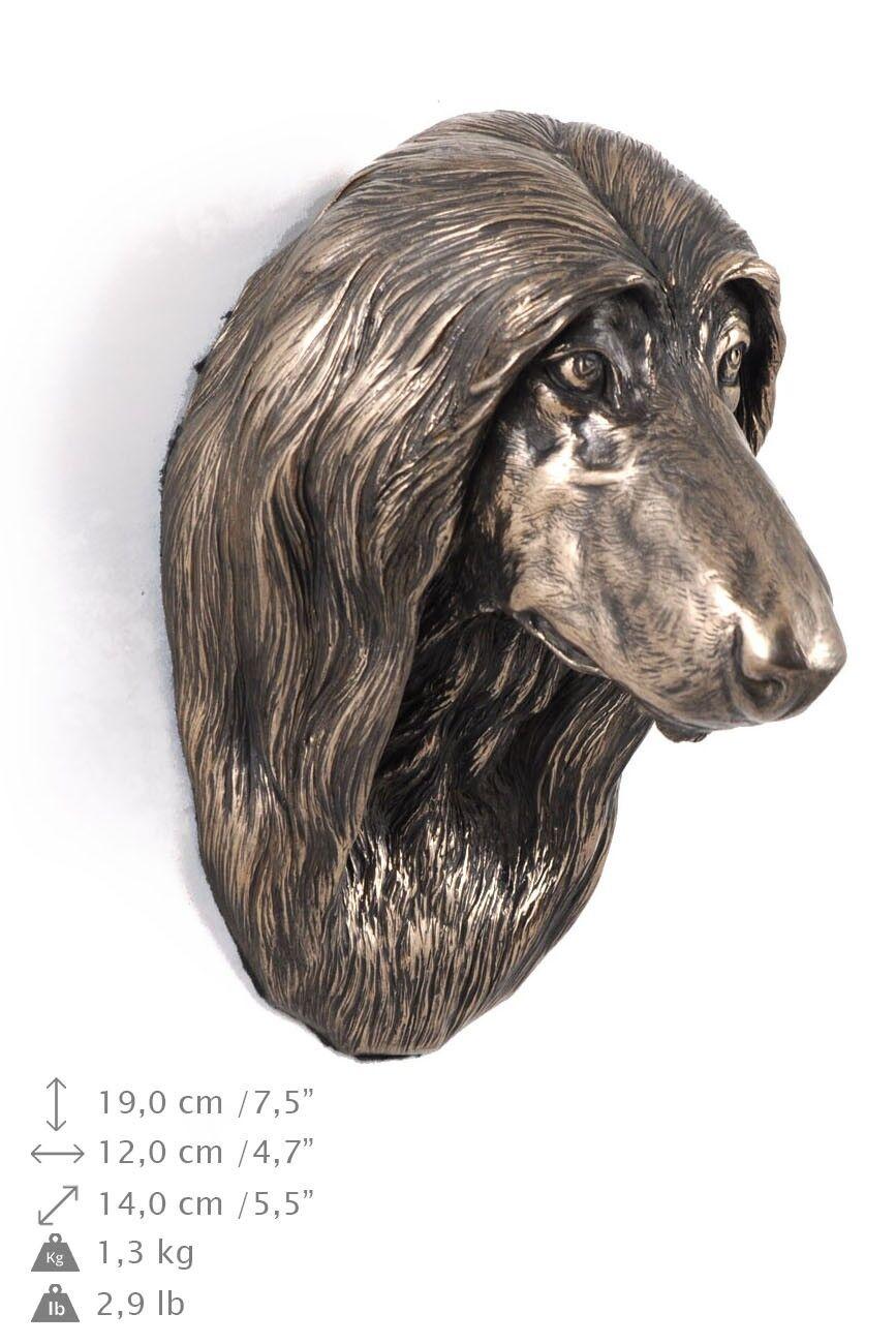 Afghan Hound - dog figurine to hang on the wall, high quality, Art Dog