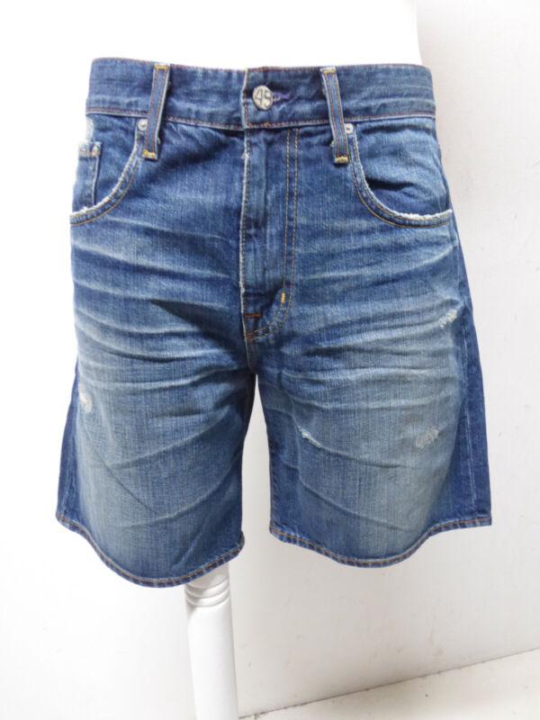 Adriano Goldschmied Herren Jeans Short In W31 / Blau & Neuwertig ( P 8421 )