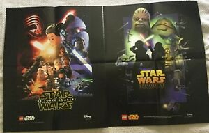 New Lego Star Wars Posters Episode Vi The Force Awakens 16 X 20