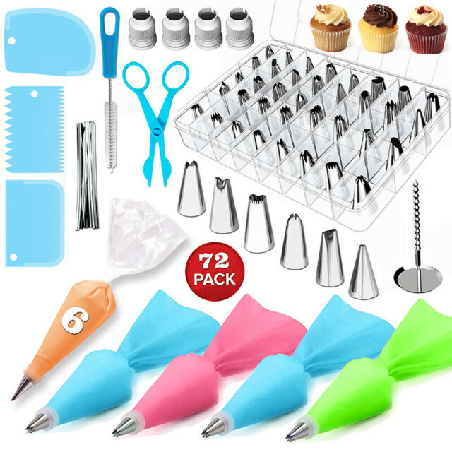 Pastry Icing Piping Bag Nozzle Tips Fondant Cake Craft Decorating Pen Set ND