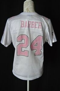 huge discount 70f7e f4dbb NFL Reebok Womens Large White Pink Dallas Cowboys Barber 24 ...