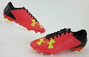 f318bb13651a NEW! Under Armour Kids Spotlight DL FG Soccer Cleats Red / Yellow ...