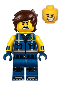 New LEGO Rex Dangervest minifig from Set 70839 Rexcelsior tlm197